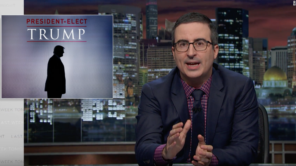 John Oliver on Trump: 'How the [expletive] did we get here?'
