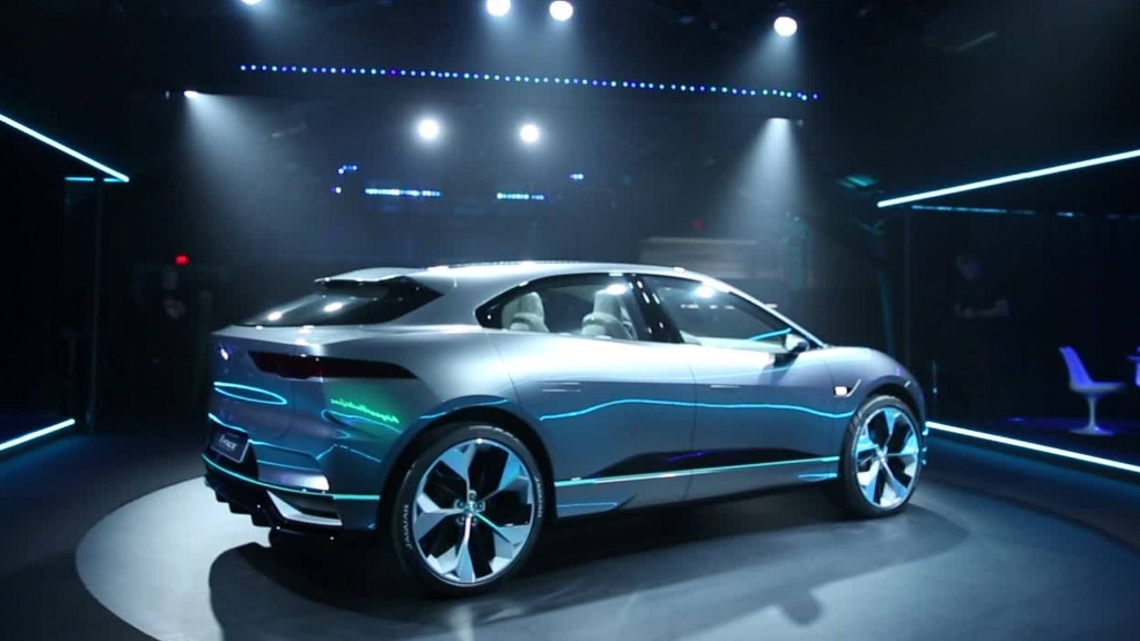 Jaguar unveils first electric car