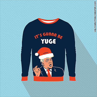 ac7ad90edd UglyChristmasSweater.com will start selling this new Trump-themed option on  Dec. 5.