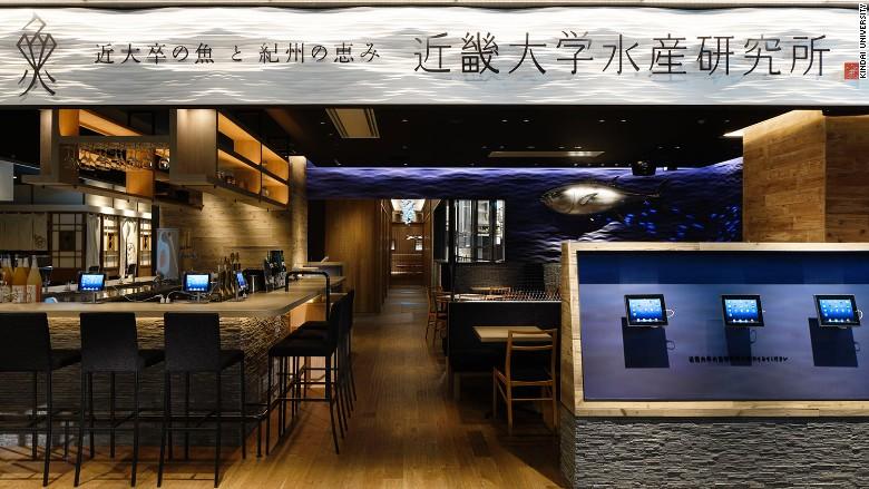 Kindai University Fishery's Restaurant Tokyo