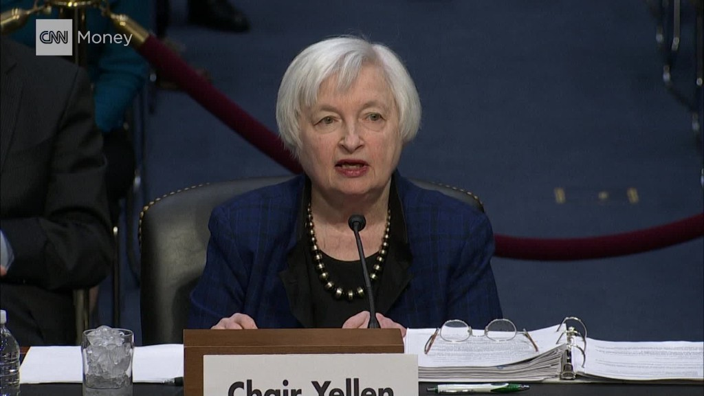 Yellen: Will serve out term, rate hike could be 'relatively soon'