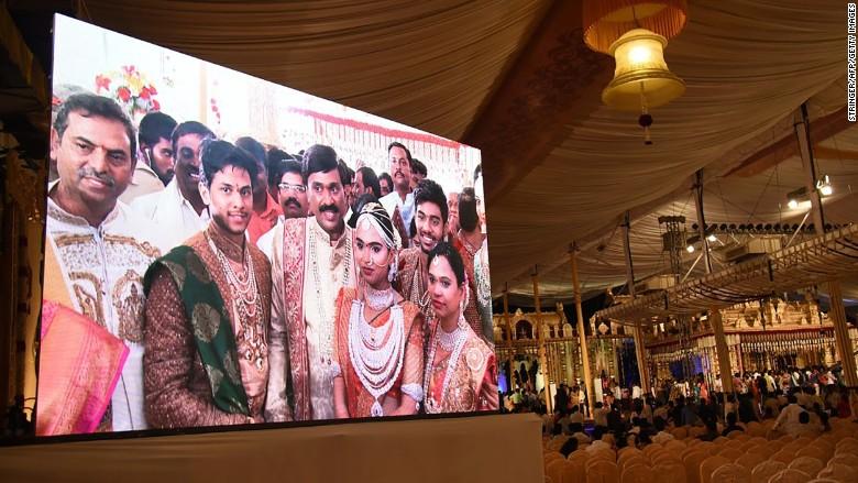 india tycoon wedding