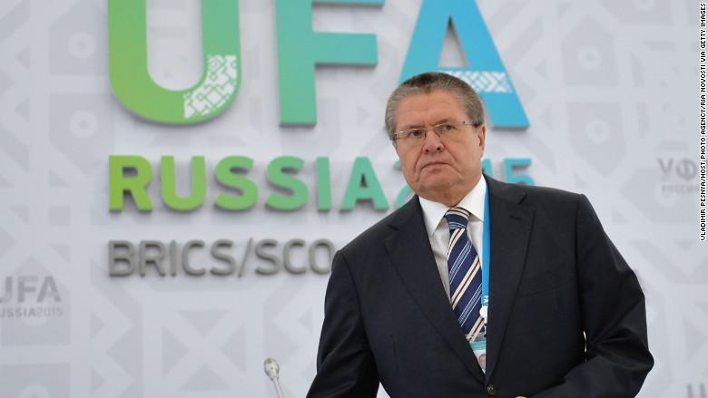 russia economic minister alexei ulyakyev