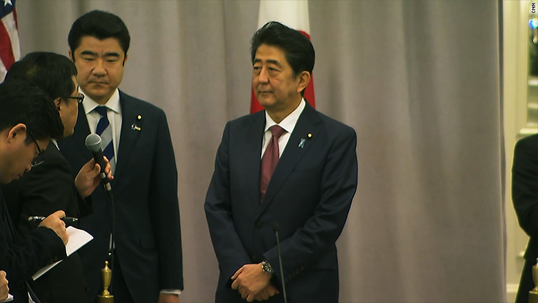 shinzo abe japanese pm
