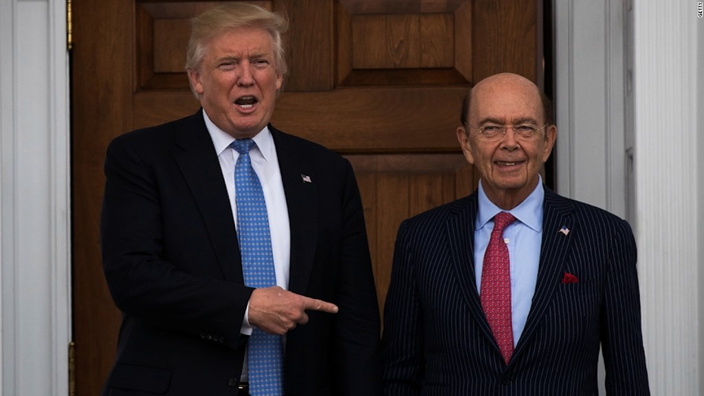 Wilbur Ross considered for commerce secretary