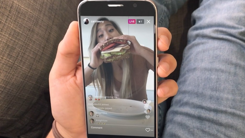Instagram launches live video and disappearing messages