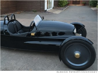 Each Uk1909 Electric Car Will Be Hand Crafted At The Morgan Headquarters In Malvern U K