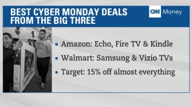 Cyber Monday sales kick off