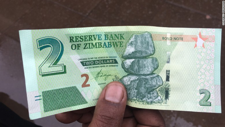 zimbabwe new bond notes