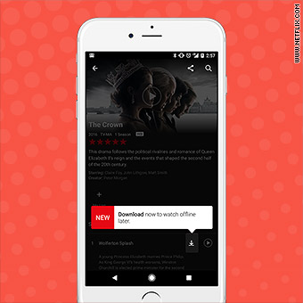 Netflix now lets you watch your favorite shows offline