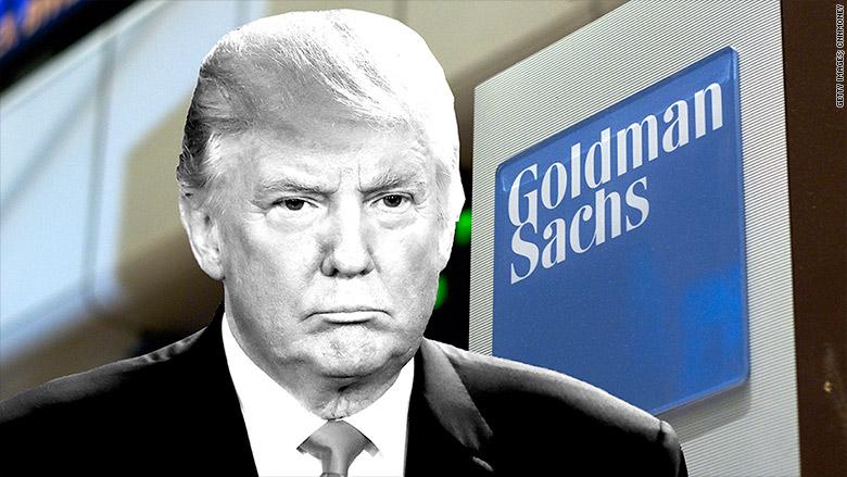 trump goldman sachs