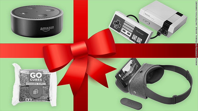amazon echo dot 13 hottest tech gifts under 100 cnnmoney