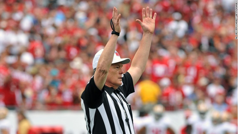 nfl refs full time