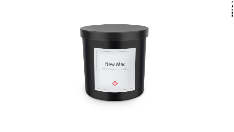 Mac-scented candle - 13 hottest tech gifts under $100 ...