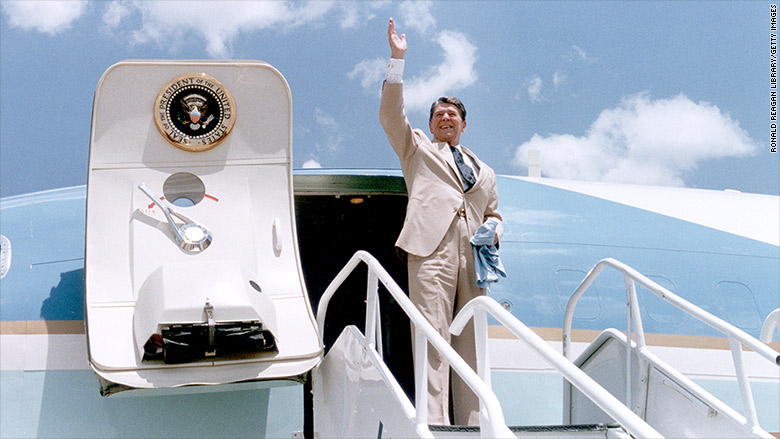 Air Force One Reagan