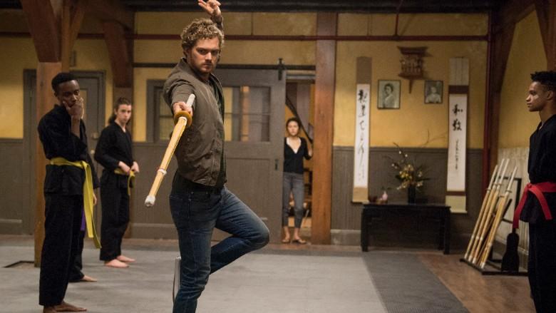 Iron Fist Scene