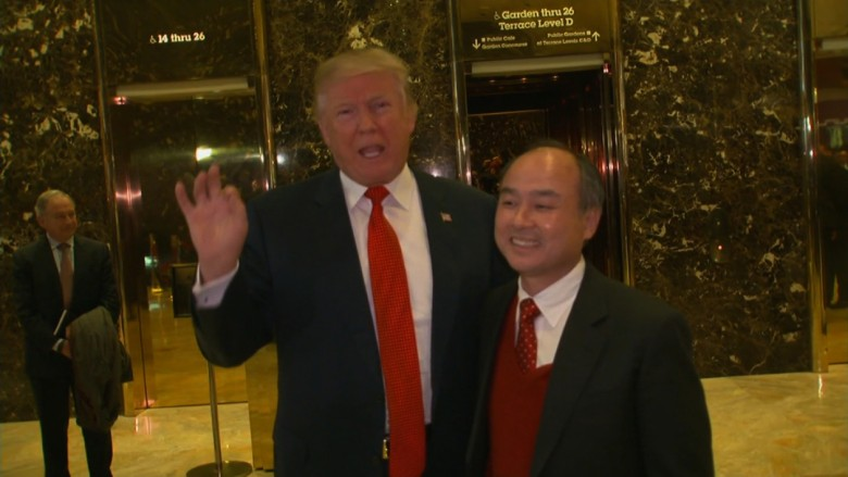 trump softbank masa