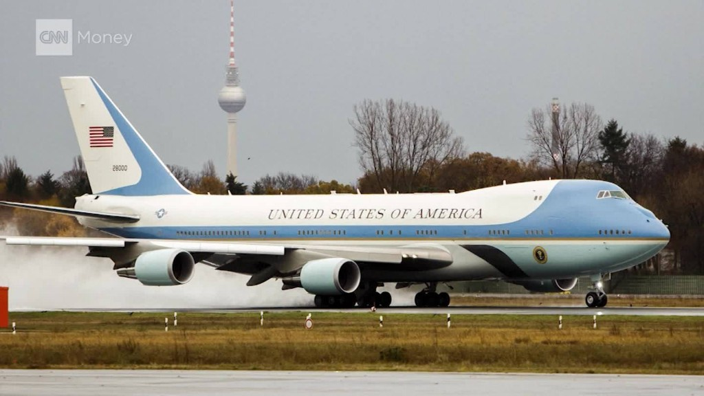 Trump Wants to Cancel Air Force One Order