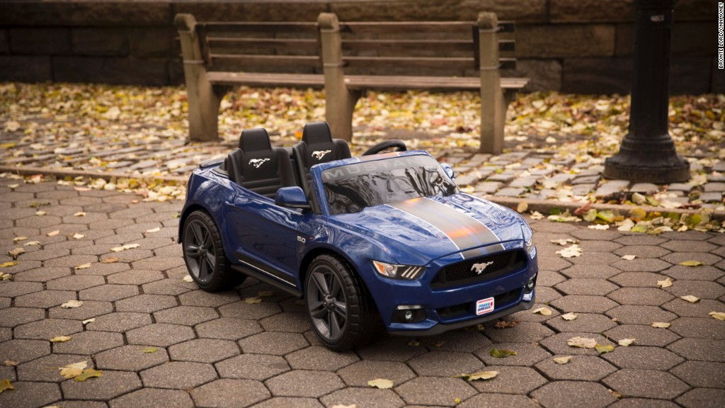 The Ford Mustang for 2-year-olds