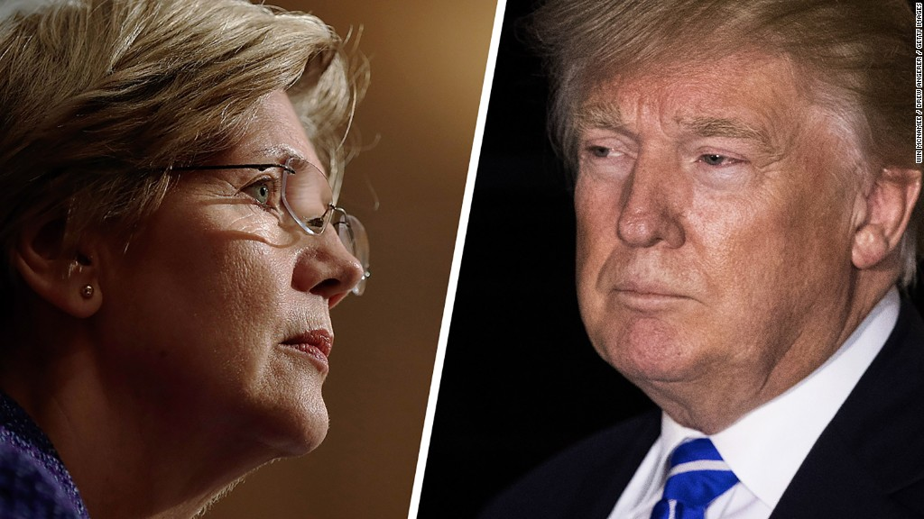 Elizabeth Warren: Trump isn't doing enough on conflicts of interest