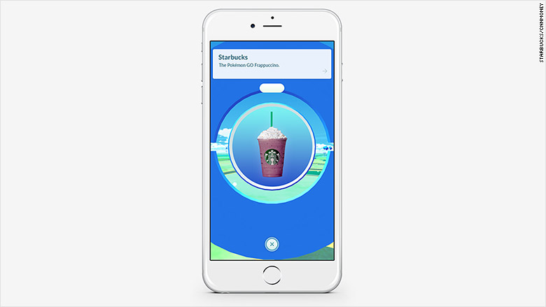 starbucks pokemon go drink
