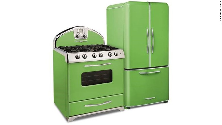 pantone green appliances