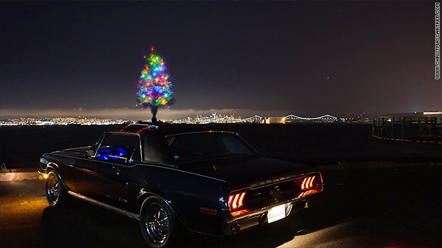 Car Christmas.Get Your Boring Car Into The Holiday Spirit