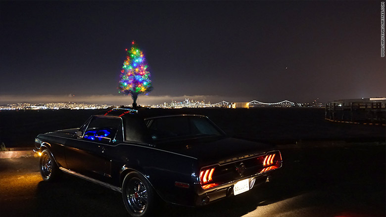 christmas car tree 2