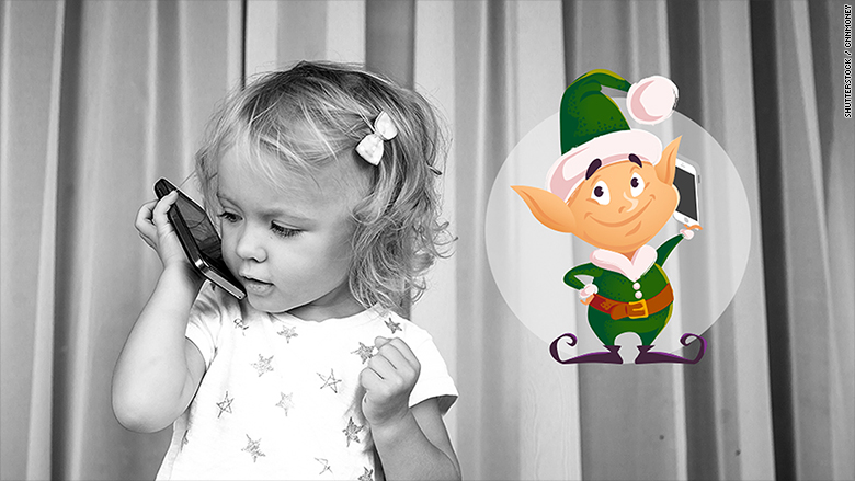 With SantaPhone, elves call kids asking for wish lists