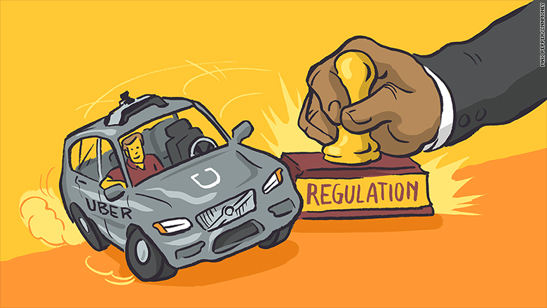 uber driverless cars regulation