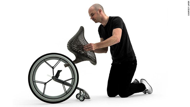 Benjamin Hubert wheelchair