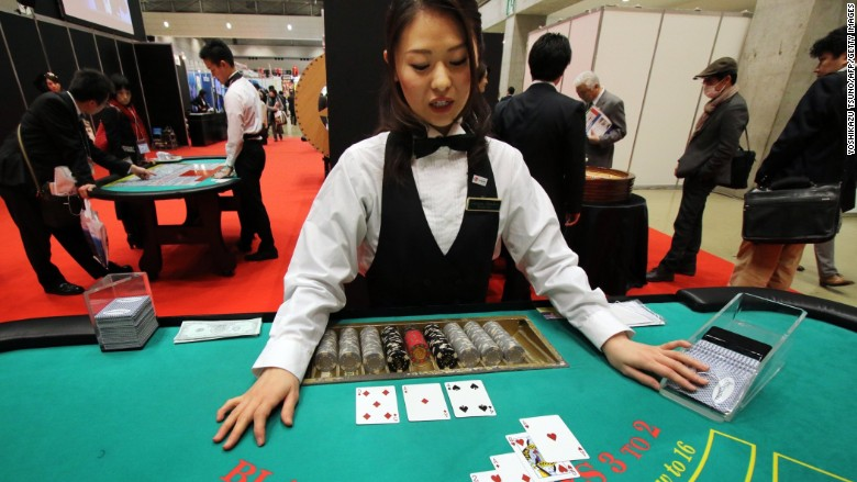 japan black jack demonstration leisure exhibition