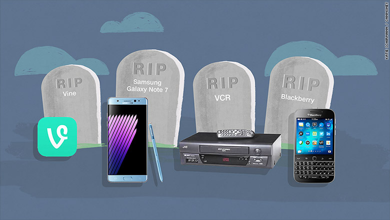 tech products killed 2016