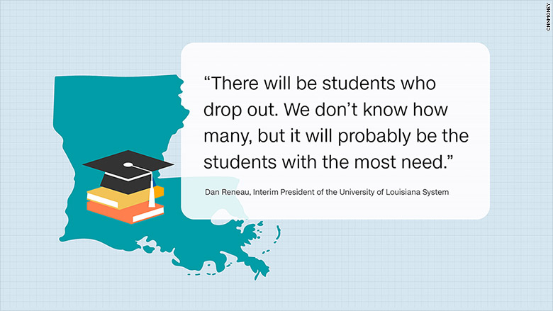 louisiana students drop out