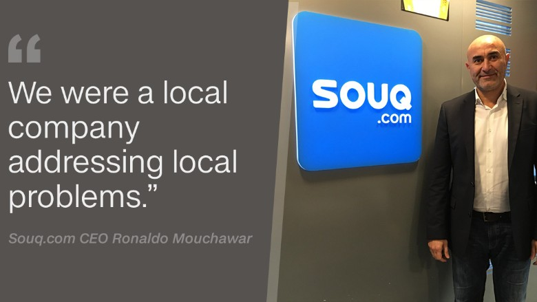 Souq CEO Ronaldo Mouchawar quote