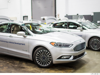 With The New Fusion Ford Triples Size Of Its Test Fleet To 30 Vehicles In 2017 F Expects Triple Again 90