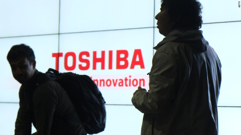 Toshiba Shares Plummet After Warning Of Billions In Losses