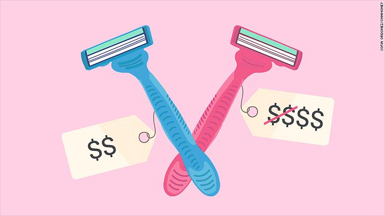 pink tax razor