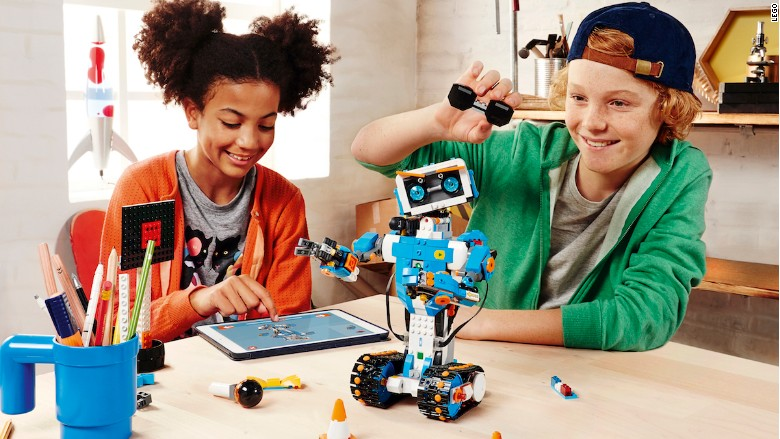 Lego's new kit teaches kids to code
