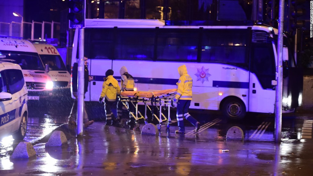 Dozens killed at upscale Istanbul nightclub