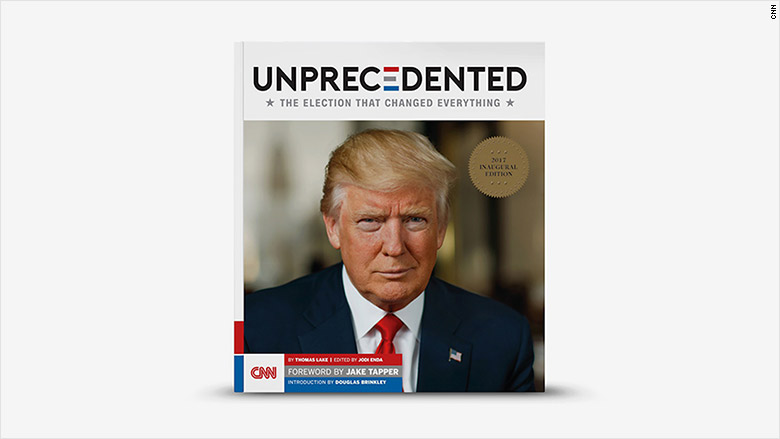 trump unprecedented book cover