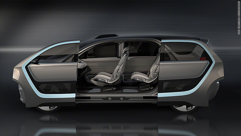 Chrysler prototype cars