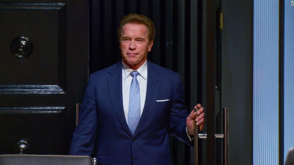 Schwarzenegger responds to Trump