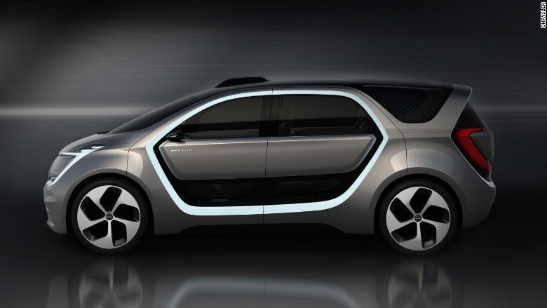 Chrysler unveils selfie-taking concept car for Millennials