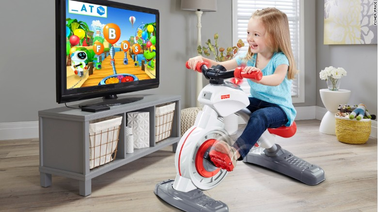 fisher price smart cycle kid