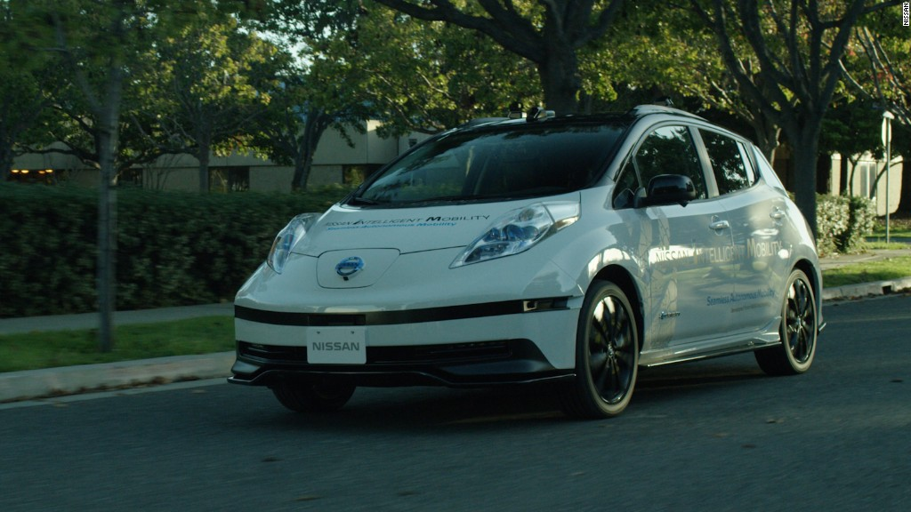 Nissan wants to remotely pilot self-driving cars