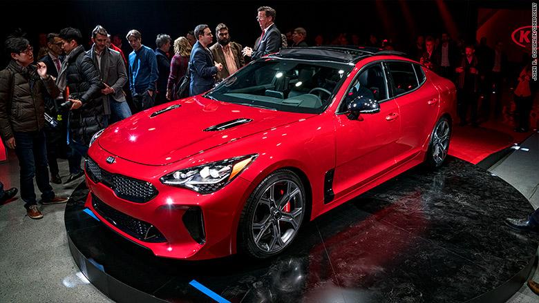 Kia Unveils Its Own European Sports Sedan - Auto show near me