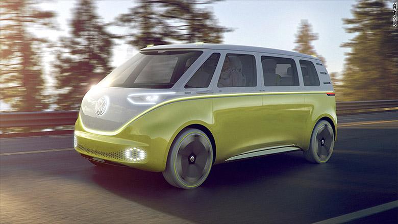 2017 detroit auto show volkswagen id buzz