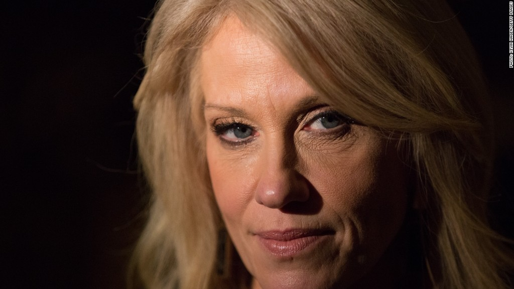 Kellyanne Conway walks back Trump tax claim