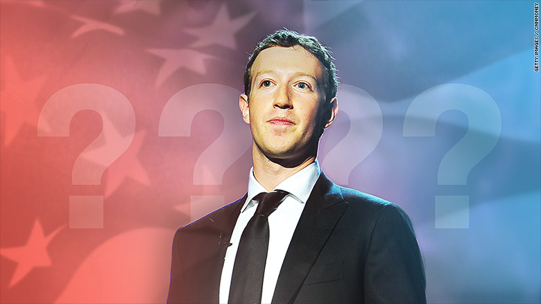 mark zuckerberg politics